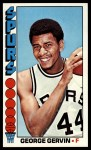 1976 Topps #68  George Gervin  Front Thumbnail