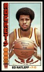 1976 Topps #18  Ed Ratleff  Front Thumbnail
