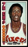 1976 Topps #111  Fred Carter  Front Thumbnail