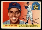 1955 Topps #16  Roy Sievers  Front Thumbnail