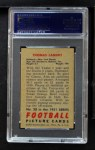 1951 Bowman #20  Tom Landry  Back Thumbnail