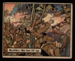 1941 Gum Inc. War Gum #36   MacArthur's Men Beat Off Japanese Front Thumbnail
