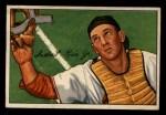 1952 Bowman #107  Del Rice  Front Thumbnail