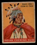 1933 Goudey Indian Gum #168  Pah-Me-Cow-E-Tah   Front Thumbnail