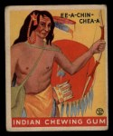 1933 Goudey Indian Gum #185  Ee-A-Chin-Chea-A   Front Thumbnail