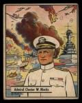 1941 Gum Inc. War Gum #46   Admiral Chester W. Nimitz Front Thumbnail