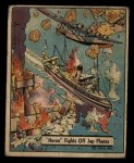 1941 Gum Inc. War Gum #27   Heron Fights Off Japanese Planes Front Thumbnail
