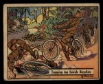1941 Gum Inc. War Gum #28   Trapping Japanese Suicide Bicyclists Front Thumbnail
