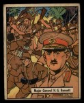 1941 Gum Inc. War Gum #32   Major General H.G. Bennett Front Thumbnail