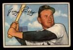 1952 Bowman #139  Jerry Priddy  Front Thumbnail