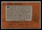 1956 Topps Davy Crockett #45 ORG  Reach Back Thumbnail