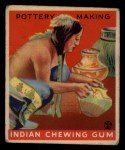 1933 Goudey Indian Gum #153   Pottery Making  Front Thumbnail