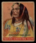 1933 Goudey Indian Gum #121   The Pigeon's Egg Head  Front Thumbnail