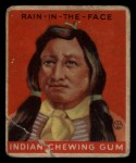 1933 Goudey Indian Gum #143   Rain-In-The Face  Front Thumbnail
