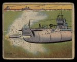 1941 Gum Inc. Uncle Sam Home Defense #58   Submarine Torpedo Practice Front Thumbnail