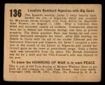 1938 Gum Inc. Horrors of War #136   Loyalists Bombard Algeciras with Big Guns Back Thumbnail