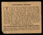 1939 Gum Inc. World In Arms #2 S  French Battleship Dunkerque Back Thumbnail