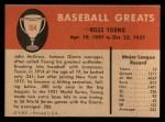 1961 Fleer #154  Ross Young  Back Thumbnail