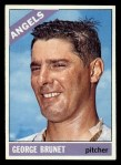 1966 Topps #393  George Brunet  Front Thumbnail