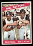 1966 Topps #99   -  Willie Stargell / Donn Clendenon Buc Belters Front Thumbnail
