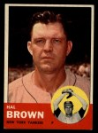 1963 Topps #289  Hal Brown  Front Thumbnail