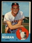 1963 Topps #57  Billy Moran  Front Thumbnail
