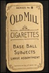 1910 T210-8 Old Mill Southern League  Nolley  Back Thumbnail