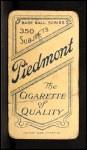 1909 T206 #3  Bill Abstein  Back Thumbnail