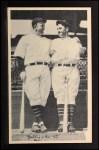 1936 National Chicle Fine Pen Premiums #91  Gabby Hartnett / Kiki Cuyler  Front Thumbnail