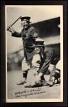 1936 National Chicle Fine Pen Premiums #98  Nick Altrock / Al Schacht  Front Thumbnail