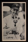 1936 National Chicle Fine Pen Premiums #11  Ossie Bluege  Front Thumbnail