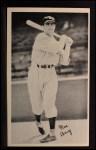 1936 National Chicle Fine Pen Premiums #6  Moe Berg  Front Thumbnail