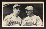 1936 National Chicle Fine Pen Premiums #95  Buddy Myer / Chuck Dressen  Front Thumbnail
