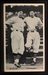 1936 National Chicle Fine Pen Premiums #93  Gabby Hartnett / Lon Warneke  Front Thumbnail