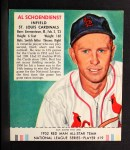 1952 Red Man #19 NL Red Schoendienst  Front Thumbnail