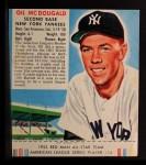 1952 Red Man #14 AL Gil McDougald  Front Thumbnail