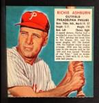 1952 Red Man #2 NL x Richie Ashburn  Front Thumbnail