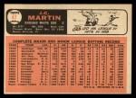 1966 Topps #47  J.C. Martin  Back Thumbnail