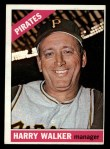 1966 Topps #318  Harry Walker  Front Thumbnail