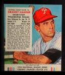 1953 Red Man #18 NL Granny Hamner  Front Thumbnail