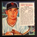1953 Red Man #21 NLx Hoyt Wilhelm  Front Thumbnail