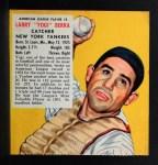 1953 Red Man #3 AL x Yogi Berra  Front Thumbnail