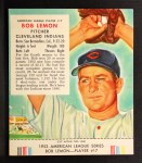 1953 Red Man #17 AL Bob Lemon  Front Thumbnail