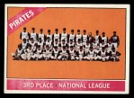 1966 Topps #404 ^COR^  Pirates Team Front Thumbnail
