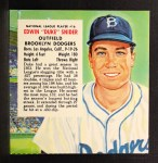 1954 Red Man #16 NLx Duke Snider  Front Thumbnail