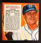 1954 Red Man #13 NLx Roy Campanella  Front Thumbnail