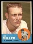 1963 Topps #261  Bob Miller  Front Thumbnail
