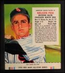 1955 Red Man #4 AL Nellie Fox  Front Thumbnail