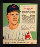 1955 Red Man #7 AL Jim Hegan  Front Thumbnail