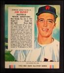 1955 Red Man #2 AL Jim Busby  Front Thumbnail